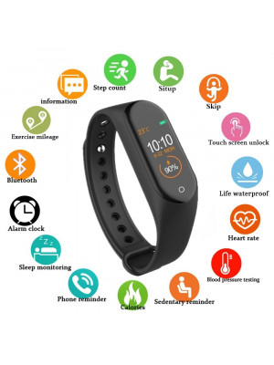 M4 Smart bracelet Heart Rate Monitor Wristband Pedometer Sports smart watch Band Health Fitness bracelet band