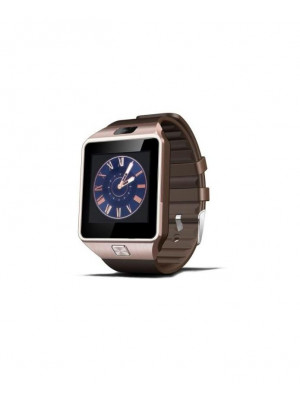 DZ-09 Bluetooth Smart Watch With Camera & Sim Golden