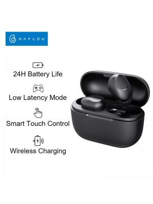 Haylou GT5 Wireless Charging Bluetooth Earphones AAC HD Stereo Sound Wearing Detection