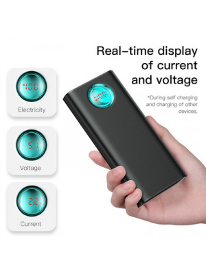 Baseus Quick Charge 3.0 Type C PD Fast Charge Power Bank 20000 mAh Portable Battery Charger External Powerbank