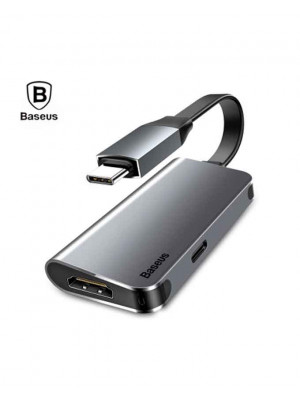 Baseus Type-C to HDMI And Type-C Little Box Smart HUB Converter