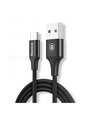 Baseus Cafule Series 3A Charging And Data Cable For Type-C - Black