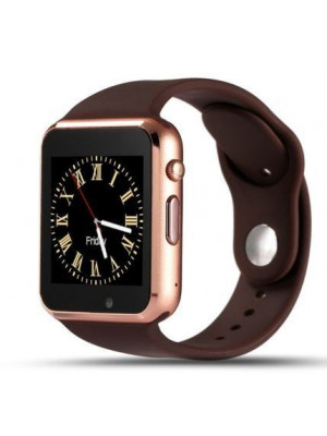 A1 Bluetooth Smart Watch With GSM & TF Card Slot - Golden