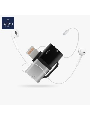 Wiwu ST02 Pro Gemini Dual Lightning Adapter Converter For IPhone