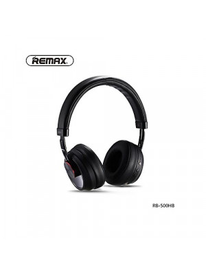 Remax RB-500HB - Bluetooth Headphone with Microphone - Black