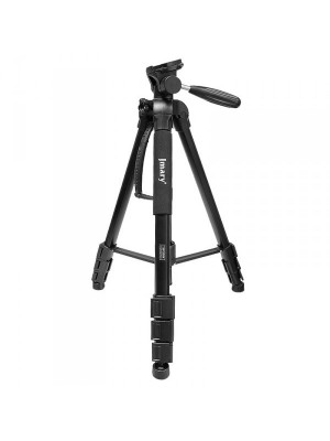 Jmary KP-2264 Professional Tripod and Monopod Stand - Black