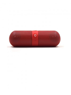 Beats Pill Bluetooth Wireless Speaker Tf - Red