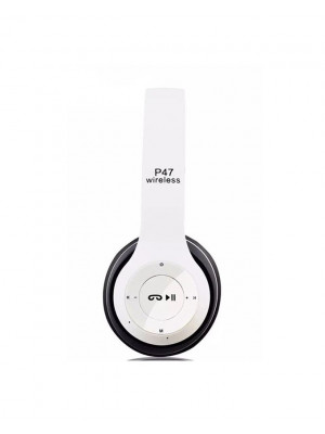 P47 Active Collection Bluetooth Foldable Headphone - White