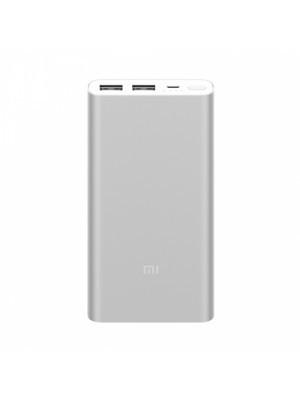 Xiaomi Mi Power Bank 2 10000 Mah Dual USB Port - Silver