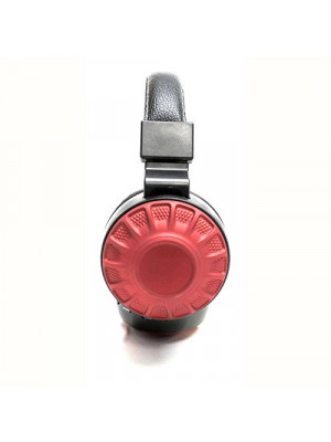 KD-24 Creative Sound Wireless Bluetooth Headset With FM - Red