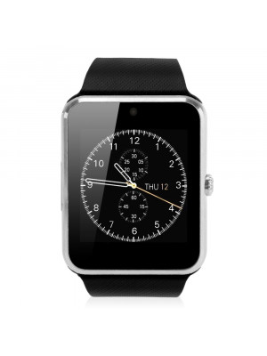 Gt08 Bluetooth Smart Wrist Watch With Nfc And Gsm – Silver Black