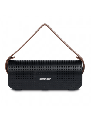 REMAX RB-HI Bluetooth 4.0 Portable Speakers Multi-Function Power Bank - Black