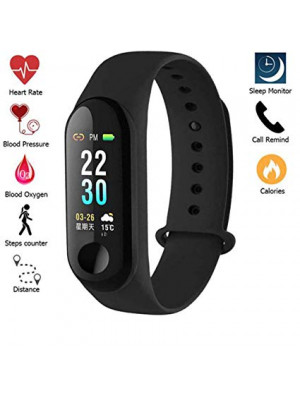 M3 Intelligence Smart Sport Wristband Blood Pressure Monitor Heart Rate Health Fitness Tracker For Android and iOS
