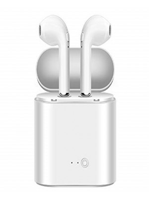 HBQ i7S TWS Wireless Airpods with Power Bank - White