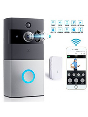 Doorbell IP Wireless Security Camera Two-Way Talk & Video,Night Vision 720P HD