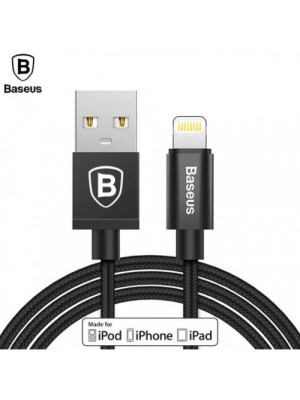 Baseus Cafule Series 2.4A Charging And Data Cable For Lightning iPhone - Black