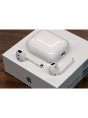 2nd Generation Airpods 2 With Charging Box Touch Sensor No Light H1 Chip With Popup Window on IPhone
