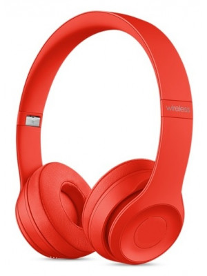 Solo3 Bluetooth Headphone With FM And TF Card Slot - Red