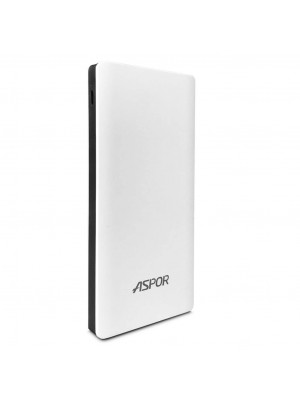 Aspor Dream Series 10000mAh Power Bank With 2USB-Ports - A341