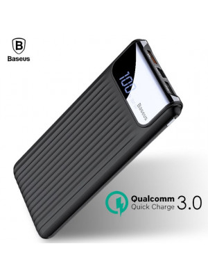 Baseus Digital Display Quick Charge 3.0 10000mAh Dual USB Power Bank
