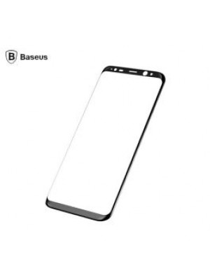Baseus 3D Arc Rim Tempered Glass For Samsung Galaxy S8 Black 0.3mm