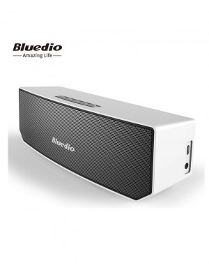 BS-3 (Camel) Portable Bluetooth Wireless Stereo Speaker with Microphone-Silver