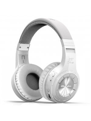 BLUEDIO H+ Turbine Hurrican Wireless Bluetooth 4.1 Headphones - White