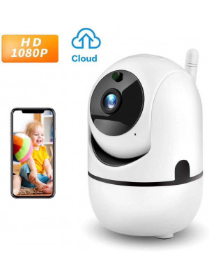 New HD 2MP IP WIFI Camera With Motion Auto Tracking IR Night Vision TF Slot Alarm Recording PTZ IP Camera home