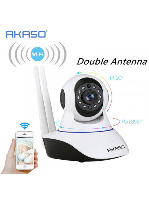 IP Wireless Camera Double Antenna