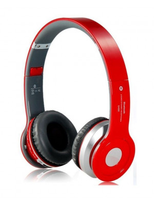 S450 Sports Wireless Bluetooth Headset - Red