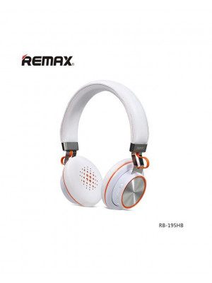 Remax 195HB Bluetooth Headphone - White