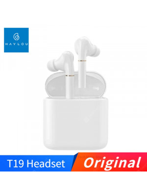 Haylou T19 Wireless Charging TWS+ Bluetooth Headphones ,Smart Noise Cancelling, APTX Infrared Sensor Touch Wireless Earphones