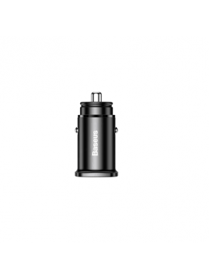 Baseus AS0S Quick Charge 4.0 3.0 USB Car Charger Supercharge QC QC4.0 QC3.0 Type C PD Car Charge Quick Charge Metal