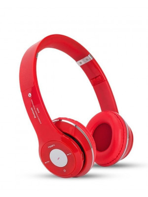 Solo2 S460 – Wireless Bluetooth Headphone With FM + SD Card – Red