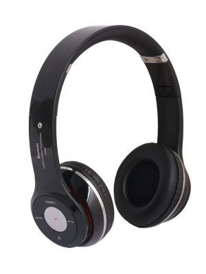 Solo2 S460 – Wireless Bluetooth Headphone With FM + SD Card – Black