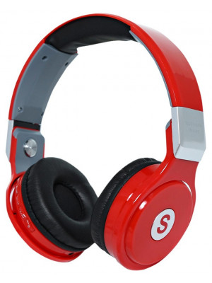 TM-006 - Over the Ear Wireless Bluetooth Headphone - Red