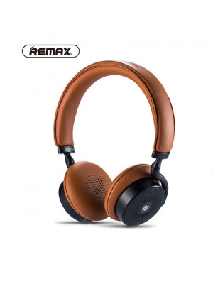 Remax RB-300HB Touch Control Bluetooth Headset - Brown