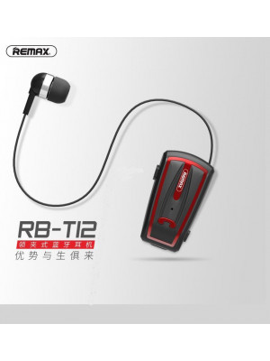 Remax RB-T12 Bluetooth Headset Clip On