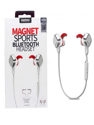 Remax S2 Magnet Sports Bluetooth Handsfree - White