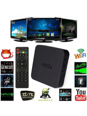 MXQ Android Smart TV Box - 4K Quad Core - 1G+8G