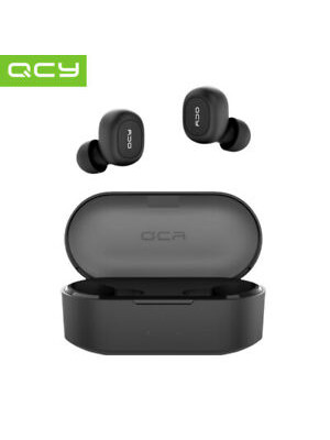 QCY T2C TWS BT5.0 Wireless Earphones with Dual Mircophone 3D Stereo Bluetooth Headphones