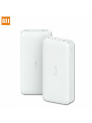 Xiaomi Redmi 20000mAh 2 USB Portable Battery Power Bank Fast Charge Type C Powerbank Charger Dual Usb Ports External Battery