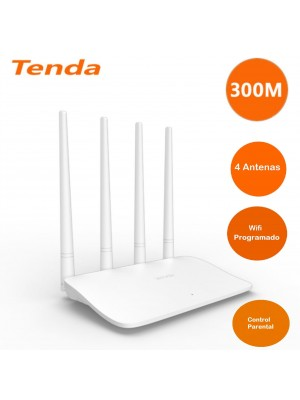 Tenda F6 Wireless Router AC1200 Router WIFI Repeater With 4 High Gain Antennas Wider Coverage Easy Set Up