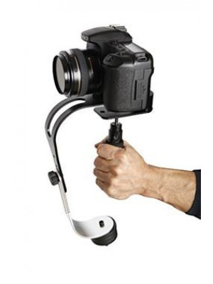 Debo UF-007 Handheld Video Stabilizer for DSLR Camera Camcorder And Mobile - Black