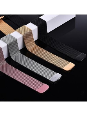 42/44MM Straps Metal Magnetic Milanese Loop Band For Series Watch Mix Color