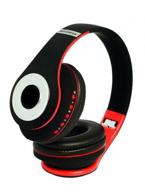 S990 - Stereo Wireless Bluetooth Headphone - Red