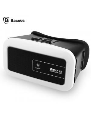 Baseus Vdream VR 3D Virtual Headwear Glasses - Black