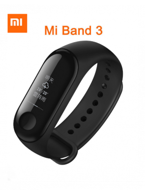 Xiaomi Band 3 Heart Rate Monitor Wristband – Black