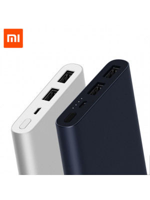 Xiaomi Mi Power Bank 2 10000 Mah Dual USB Port
