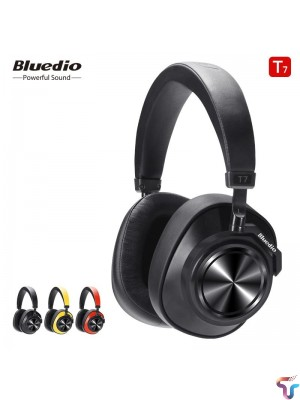 Bluedio T7 Plus Bluetooth Headphones User-defined Active Noise Cancelling Wireless Headset for phones support SD card slot